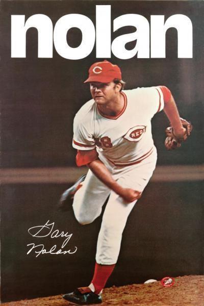 Gary Nolan (baseball) GARY NOLAN 1972 CINCINNATI REDS X 7 B 1995