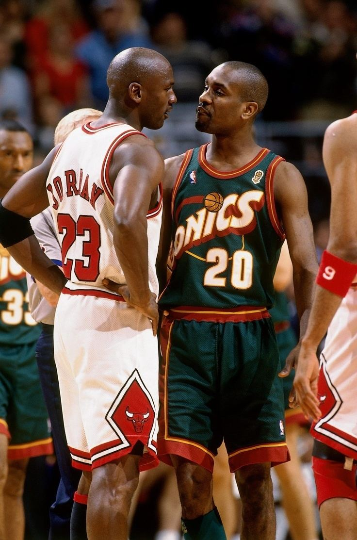 Gary Payton Gary Paytonfuck you MJfuck youtoo Sports