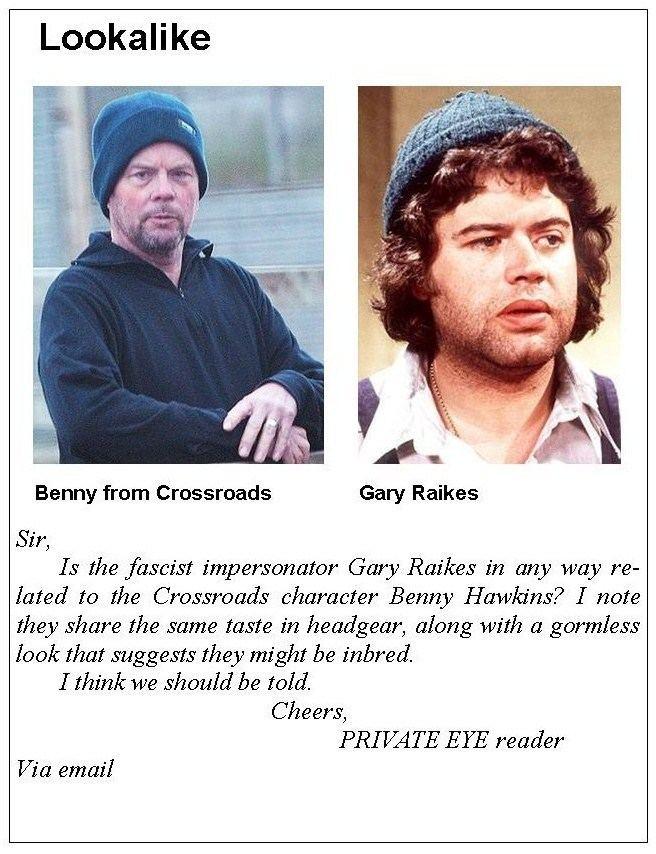 Gary Raikes NUTTERS39 CORNER No 2