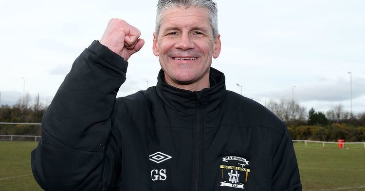 Gary Smyth (loyalist) HW Welders manager Gary Smyth No top flight for us Belfast Live