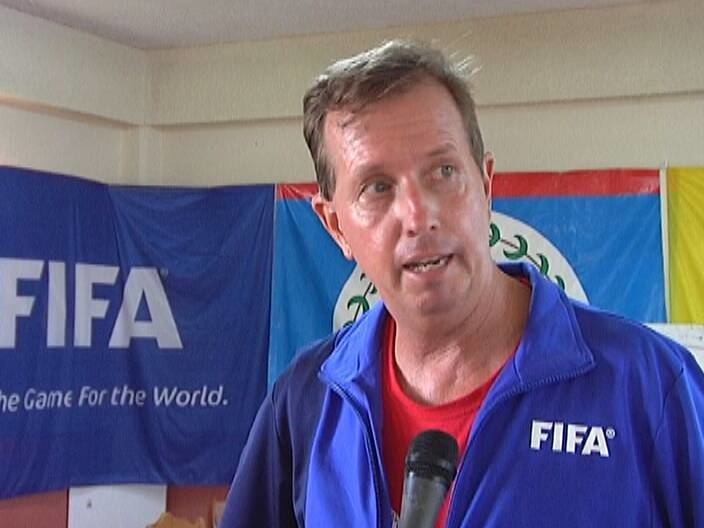 Gary Stempel FFB gets FIFA instructor to train coaches