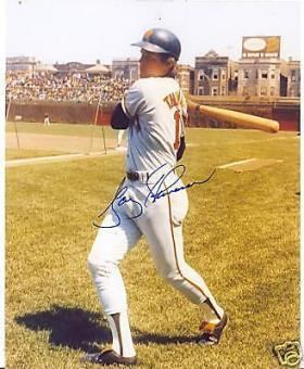 Gary Thomasson Gary Thomasson Memorabilia Autographed Signed