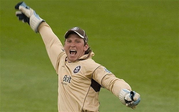Gary Wilson (cricketer) Surrey39s Gary Wilson answers Graeme Smith39s call with