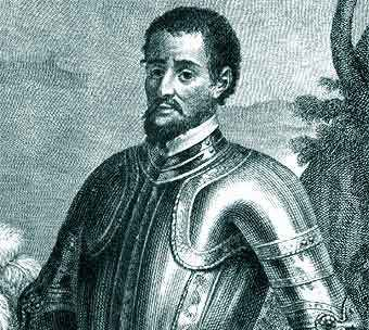 Gaspar de Espinosa Biografia de Hernando de Soto
