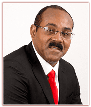 Gaston Browne Antigua and Barbuda Labour Party Gaston Browne