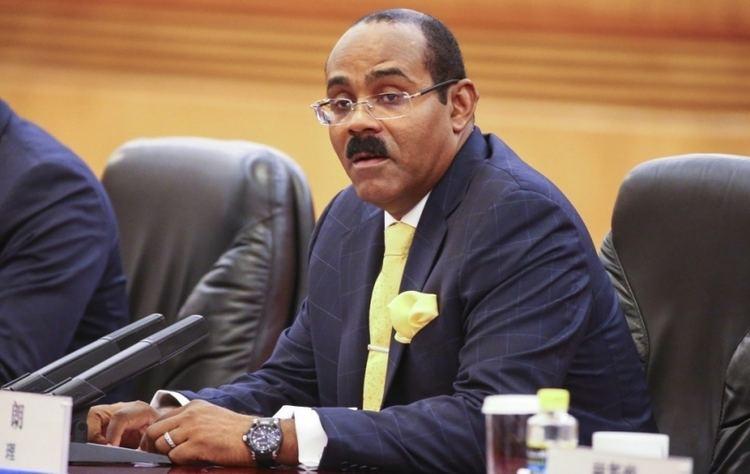 Gaston Browne Prime Minister Gaston Browne of Antigua and Barbuda