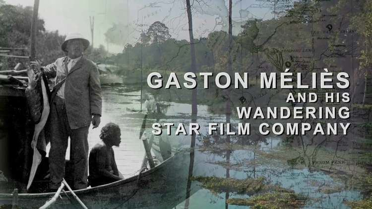 Gaston Méliès Official trailer of quotGaston Mlis and his Wandering Star Film