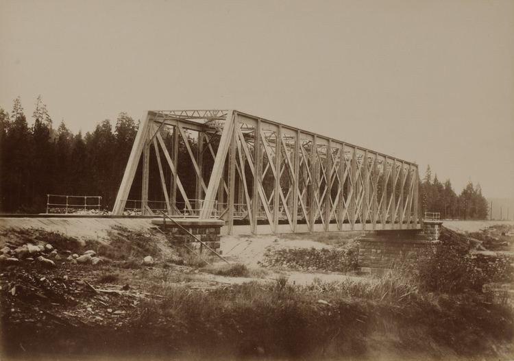 Gauja River Railway Bridge