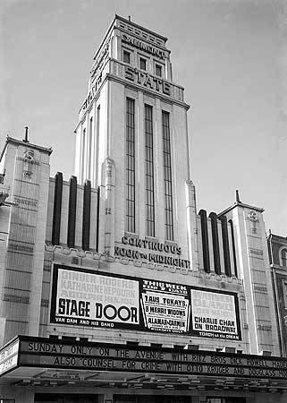 Gaumont State Cinema 1000 images about Vintage Cinema Pictures on Pinterest New york