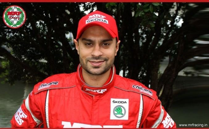 Gaurav Gill MRF Racing News and Events Team MRF39s Gill on track