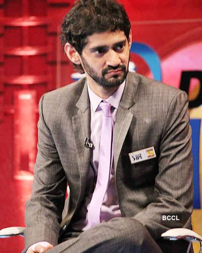 Gaurav Kapur Gaurav Kapur on the sets of 39Extra Innings39 shot at RK Studios in