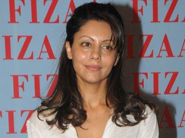 Gauri Khan Gauri Khan attends Zarine Khan39s store opening solo