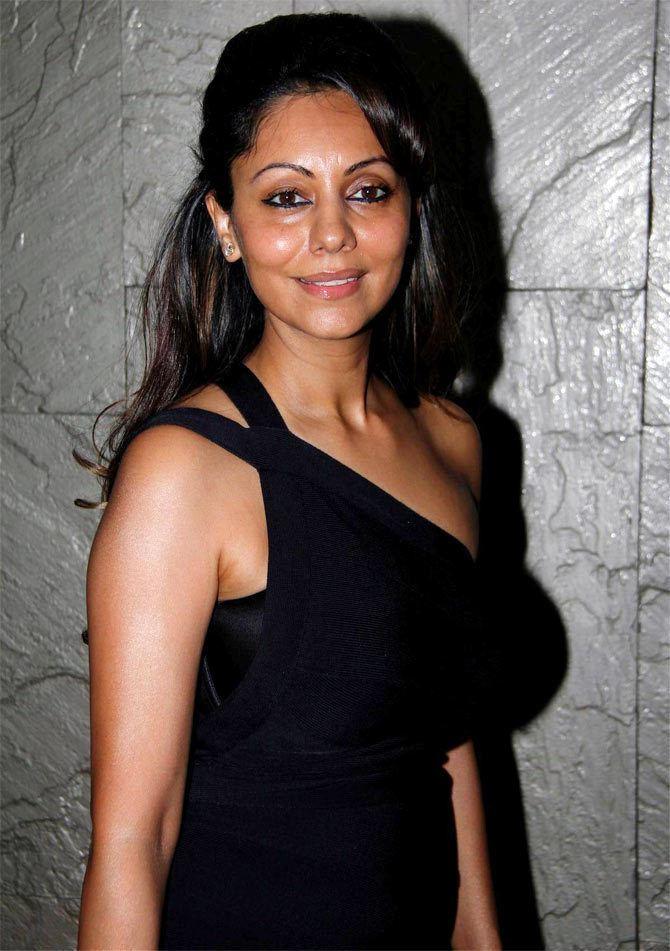 Gauri Khan Gauri to Shah Rukh Do less stunts in the movies Rediff