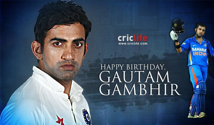 Gautam Gambhir 18 facts about Indian batsman who excelled when it