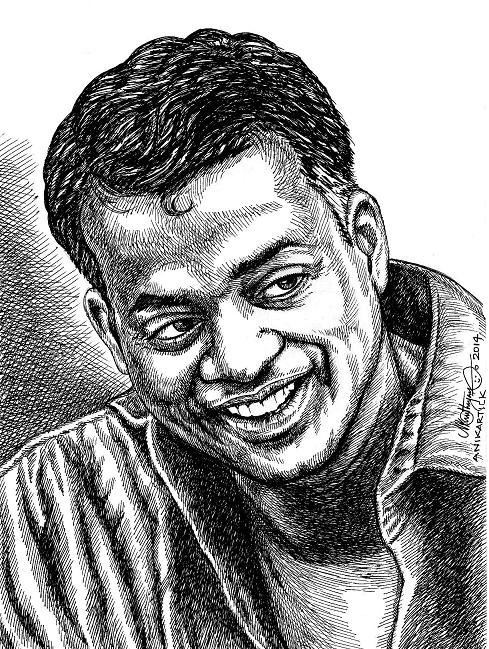 Gautham Menon Director and Producer GAUTHAM MENON Portrait by Indian Art Flickr