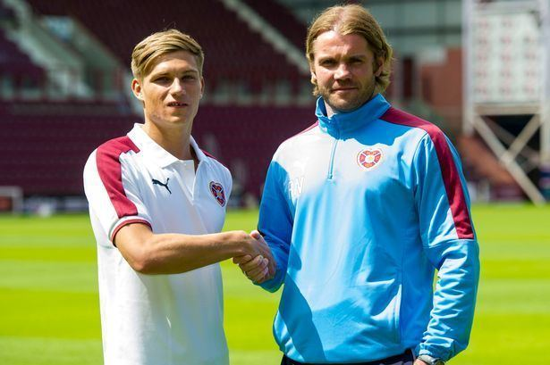 Gavin Reilly Hearts new boy Gavin Reilly vows to make his mark after