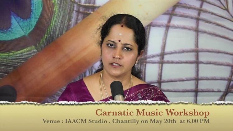 Gayathri Venkataraghavan IAACM Presents Gayathri Venkataraghavan on a Carnatic Music