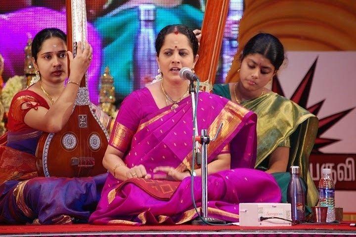 Gayathri Venkataraghavan Richmond Rasikas Carnatic vocal concert by SmtGayathri Venkataraghavan