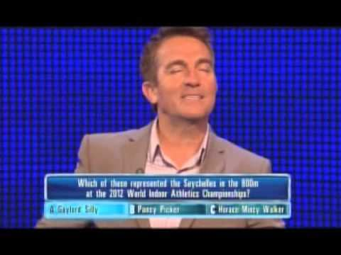 Gaylord Silly Bradley Walsh Laughing On The Chase Gaylord Silly YouTube