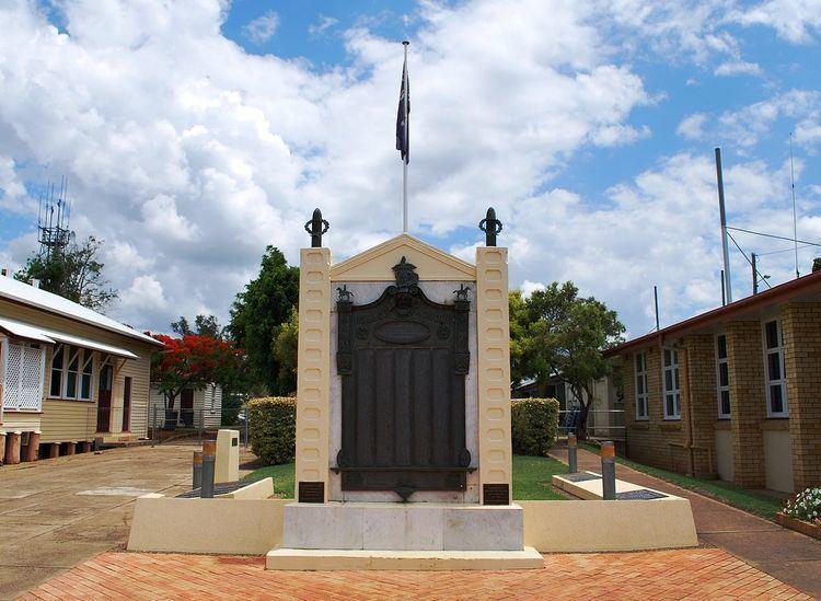 Gayndah War Memorial
