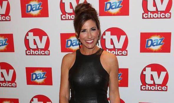 Gaynor Faye Emmerdale39s Gaynor Faye on weekends family and social