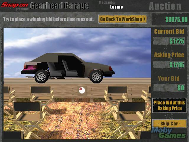 Download snap-on presents gearhead garage: the virtual mechanic.