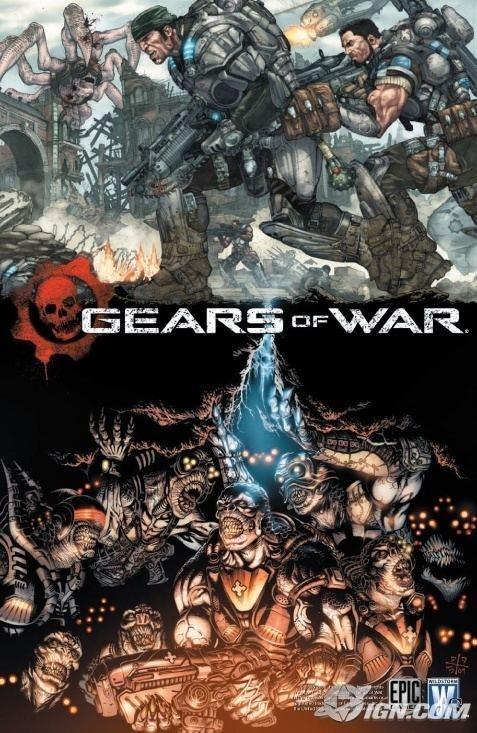 Gears of War (comics) DC to Publish Gears of War Comic IGN