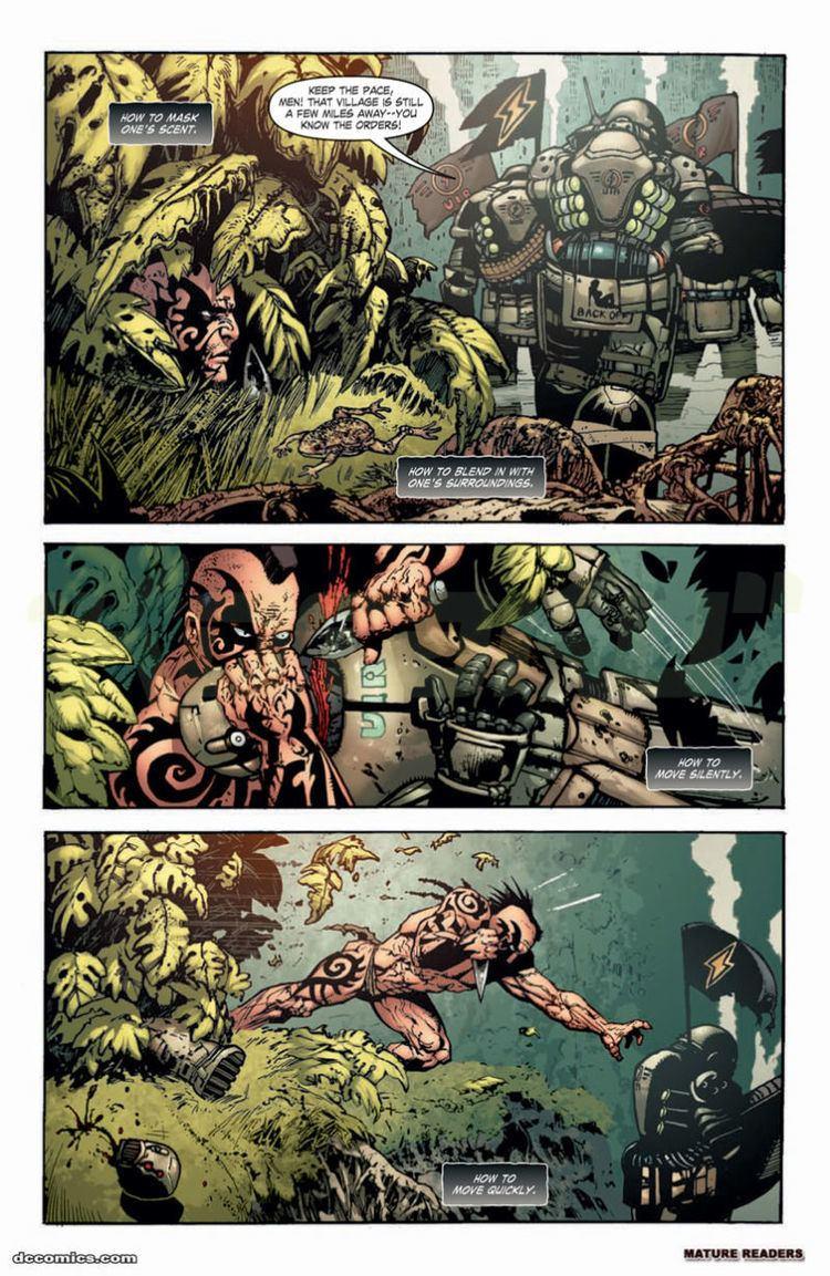Gears of War (comics) Gears of War Comic Preview Tai39s Story