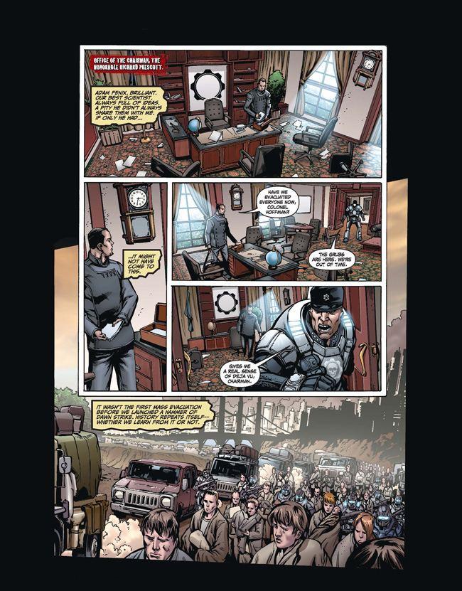 Gears of War (comics) GoWPortal Gears of War Dirty Little Secrets Issue 1 Product