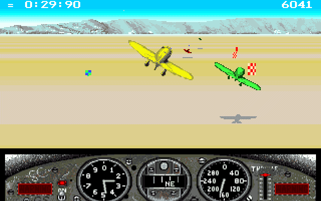 Gee Bee Air Rally Dazeland Amiga games GeeBee Air Rally