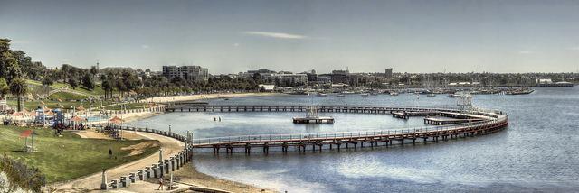 Geelong Waterfront EASTERN BEACH GEELONG WATERFRONT Peter Dalton Peter Dalton