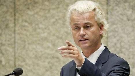 Geert Wilders Geert Wilders dreigt maar tegen wie Politiek TROUW
