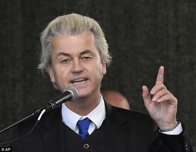 Geert Wilders Dutch politician Geert Wilders labels refugee crisis an Islamic
