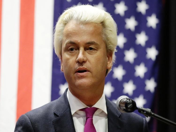 Geert Wilders Farright Dutch politician Geert Wilders hails Donald Trumps