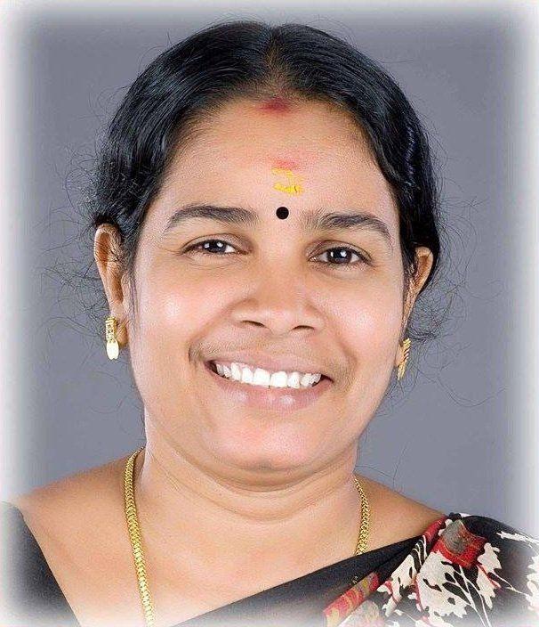 Geetha Gopi Geetha Gopi Nattika LDF Candidate Kerala Assembly Elections 2016