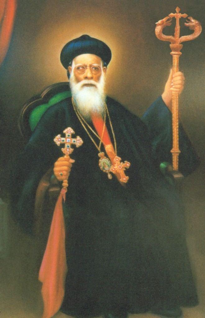 Geevarghese Dionysius of Vattasseril St Johns Orthodox Syrian Church VATTASSERIL THIRUMENI