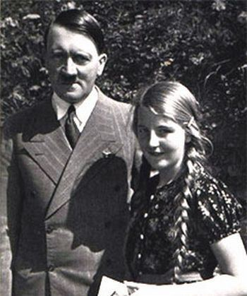 Geli Raubal Geli Raubal and Adolf Hitler Geli was his neice half