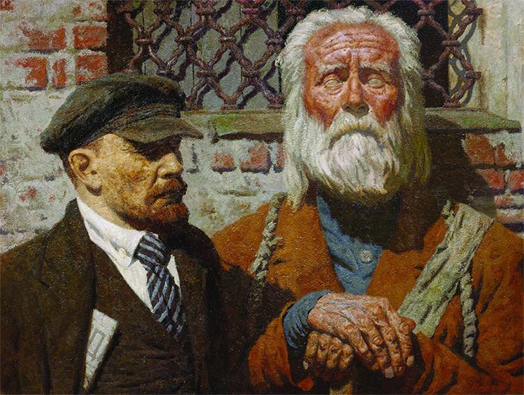 Geliy Korzhev GELY KORZHEV I HAVE THE RIGHT The Tretyakov Gallery Magazine