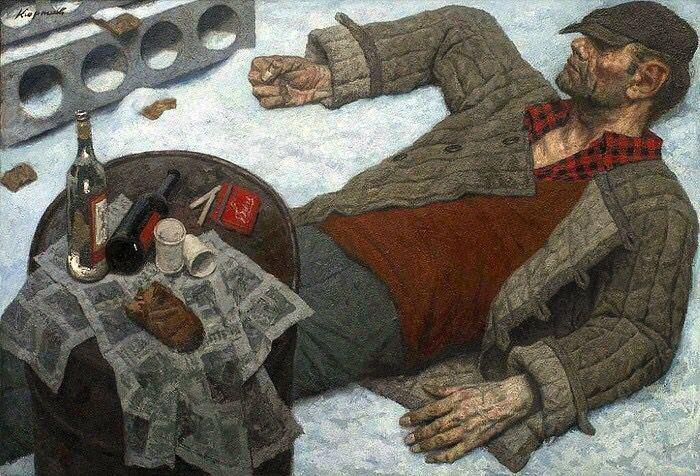 Geliy Korzhev Gely Korzhev 19252012 Art by Geliy Korzhev Pinterest