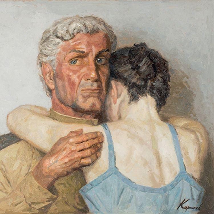 Geliy Korzhev Artist Art Russe