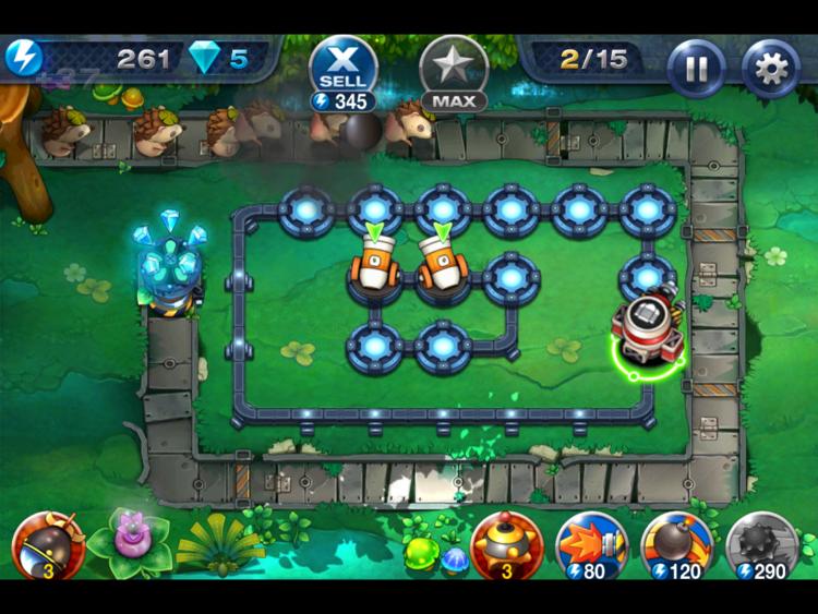 Gem Keeper Gem Keeper Cute Addictive Tower Defense Game iPhoneiPad App
