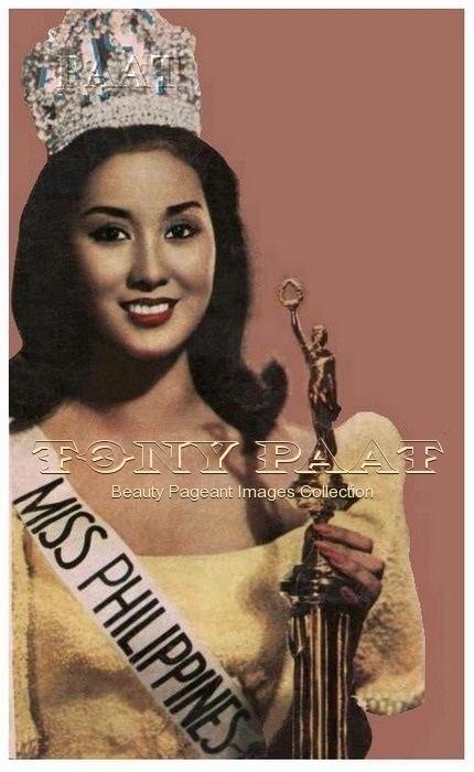 Gemma Cruz-Araneta Retrospect GEMMA CRUZ Miss International 1964