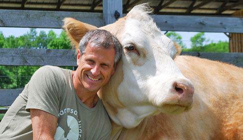 Gene Baur Gene Baur Speaking Tour About Gene Baur Farm Sanctuary