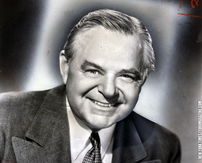 Gene Lockhart October 1951 Gene Lockhart PHOTO OF THE DAY TORO