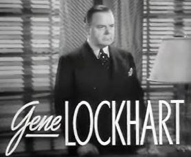 Gene Lockhart Gene Lockhart Wikipedia