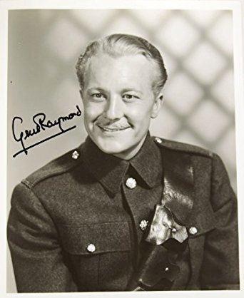 Gene Raymond Gene Raymond Signed Vintage 8x10 BampW Photo Signed in