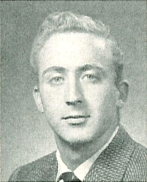 Gene Wilder Iowa City Past 1955 University of Iowa Hawkeye Yearbook Photo of