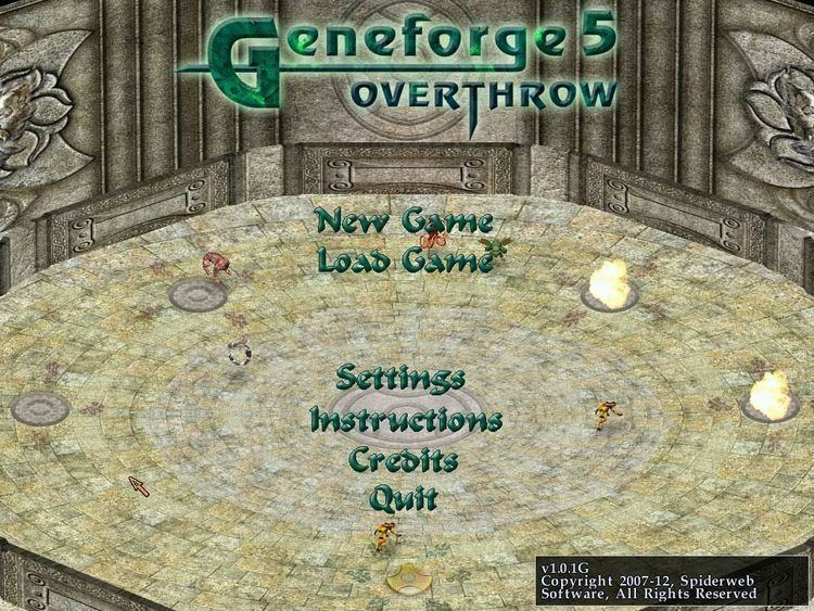 geneforge 5 overthrow keygen free