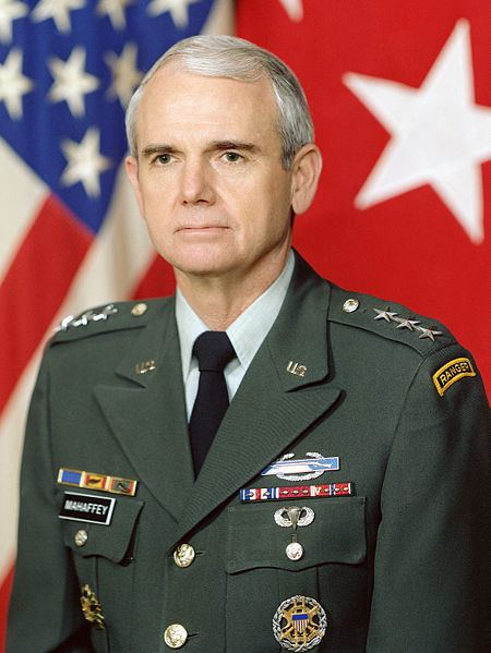 General (United States) Fred Keith Mahaffey General United States Army