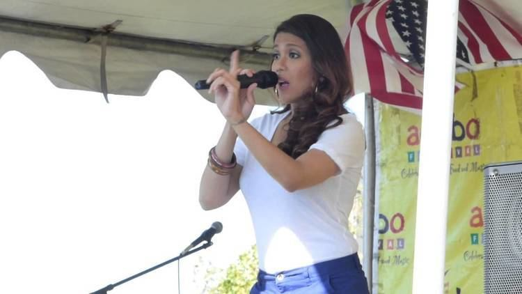 Geneva Cruz Ms Geneva Cruz Singing at the 9th Annual Adobo Festival YouTube